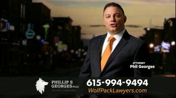 Phillip S. Georges, PLLC TV Spot, 'Rear Ended'