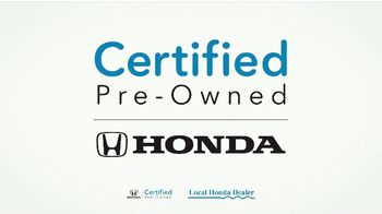 Honda TV Spot, 'Certified Pre-Owned: Inspected and Certified' [T2] - Thumbnail 3