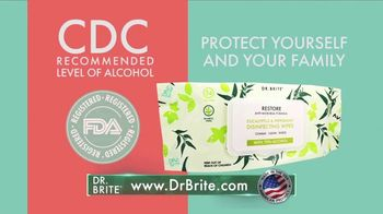 Dr. Brite Naturals Disinfecting Wipes TV Spot, 'Routine Cleaning' - Thumbnail 8