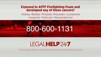 Legal Help 24/7 TV Spot, 'AFFF Lawsuit' - Thumbnail 6
