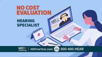 MDHearingAid TV Spot, 'Hearing Test'