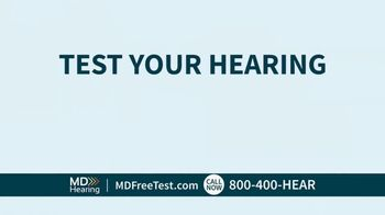 MDHearingAid TV Spot, 'Hearing Test'