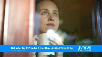 Sunrun TV Spot, 'Storm Season Is Coming: Solar for $1 Per Month'