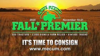 Mecum Gone Farmin' Fall Premier TV Spot, 'Consign Your Collection'