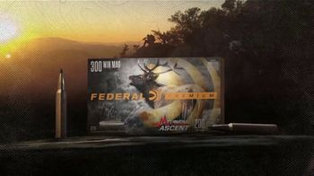 Federal Premium Ammunition Terminal Ascent TV Spot, 'Any Hunt, Any Range' - Thumbnail 9