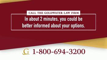 Goldwater Law Firm TV Spot, 'Lawsuits: Non-Hodgkin's Lymphoma' - Thumbnail 7