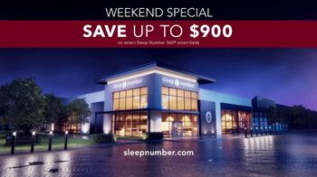 Sleep Number Weekend Special TV Spot, 'Save up to $900' - Thumbnail 8