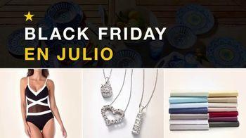 Macy's Black Friday en Julio TV Spot, 'Trajes de baño, diamantes y sabanas' [Spanish] - Thumbnail 1