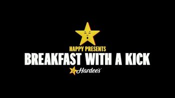 Hardee's Southwest Omelet Biscuit and Burrito TV Spot, 'Happy's Breakfast With a Kick' - Thumbnail 1