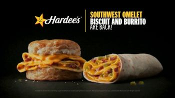Hardee's Southwest Omelet Biscuit and Burrito TV Spot, 'Happy's Breakfast With a Kick' - Thumbnail 6