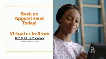 Ashley HomeStore Grand Reopening Event TV Spot, 'Virtual Appointments' - Thumbnail 7