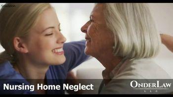 Onder Law Firm TV Spot, 'Nursing Home Abuse' - Thumbnail 1