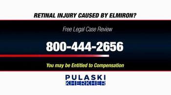 Pulaski Law Firm TV Spot, 'Retinal Injury Caused by Elmiron?' - Thumbnail 7