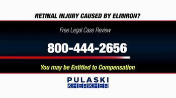 Pulaski Law Firm TV Spot, 'Retinal Injury Caused by Elmiron?' - Thumbnail 8