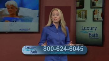 Luxury Bath Technologies Bath Makeover Event TV Spot, 'Bathing Safety'
