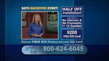 Luxury Bath Technologies Bath Makeover Event TV Spot, 'Bathing Safety' - Thumbnail 9