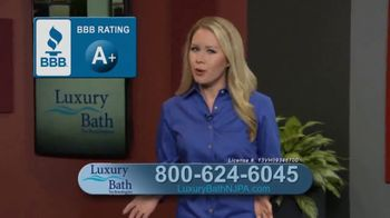 Luxury Bath Technologies Bath Makeover Event TV Spot, 'Transformation in One Day' - Thumbnail 4