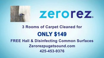 Zerorez TV Spot, 'Your Home Health Expert: 3 Rooms for $149' - Thumbnail 8