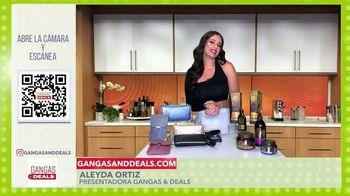 Gangas & Deals TV Spot, 'Save the Girls y Mococcan Gold Series' con Aleyda Ortiz [Spanish]
