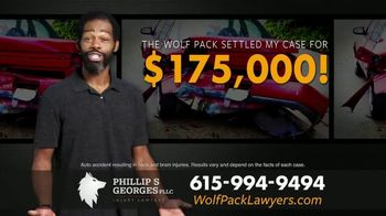 Phillip S. Georges, PLLC TV Spot, 'Boom: Rear-Ended'