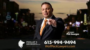 Phillip S. Georges, PLLC TV Spot, 'Boom: Rear-Ended' - Thumbnail 6
