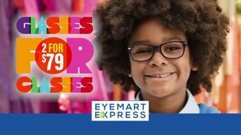 Eyemart Express TV Spot, 'Glasses for Classes: Two for $79'