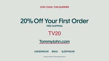 Tommy John TV Spot, 'Sweat-Free Secret: 20 Percent Off' - Thumbnail 9
