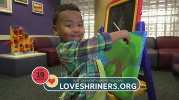 Shriners Hospitals for Children TV Spot, 'Thank You for Giving' - Thumbnail 6