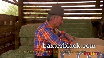 Baxter Black Back in Time Cowboy Theater TV Spot, 'Entertainment' - Thumbnail 1