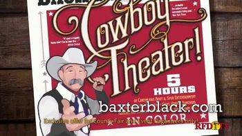 Baxter Black Back in Time Cowboy Theater TV Spot, 'Entertainment' - Thumbnail 3