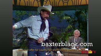 Baxter Black Back in Time Cowboy Theater TV Spot, 'Entertainment' - Thumbnail 4