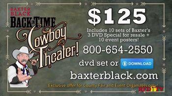 Baxter Black Back in Time Cowboy Theater TV Spot, 'Entertainment' - Thumbnail 9