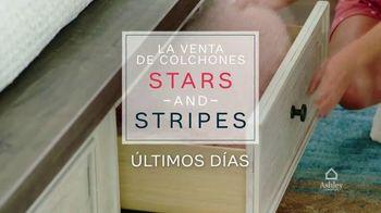 Ashley HomeStore Venta de Colchones Stars and Stripes TV Spot, 'Últimos días' [Spanish] - Thumbnail 2
