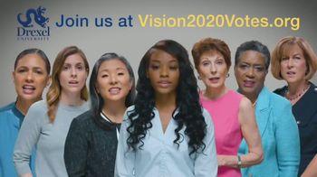 Drexel University Vision 2020 TV Spot, 'Voice'