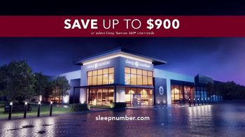 Sleep Number 360 Smart Bed TV Spot, 'Save $900' - Thumbnail 7