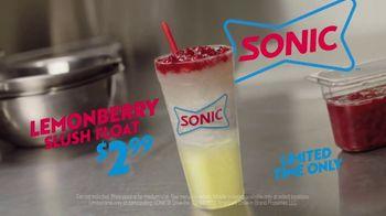 Sonic Drive-In Lemonberry Slush Float TV Spot, 'Running the Game' - Thumbnail 10