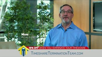 Timeshare Termination Team TV Spot, 'Freedom: 15 Percent Off' - Thumbnail 2