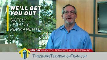 Timeshare Termination Team TV Spot, 'Freedom: 15 Percent Off' - Thumbnail 6