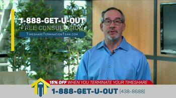 Timeshare Termination Team TV Spot, 'Freedom: 15 Percent Off'