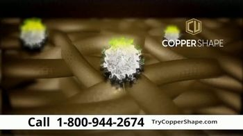 Coppershape Copper-Infused Compression Gloves TV Spot, 'Barrier of Protection'