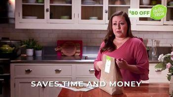 HelloFresh TV Spot, 'Melissa: $80 Off'
