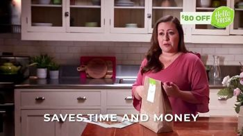 HelloFresh TV Spot, 'Melissa: $80 Off'