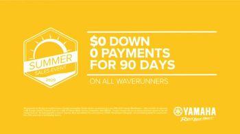 Yamaha Waverunners Summer Sales Event TV Spot, 'Waverunners' - Thumbnail 9