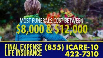 Final Expense Life Insurance TV Spot, 'Saying Goodbye: Ease the Burden' - Thumbnail 1