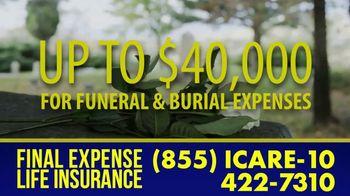 Final Expense Life Insurance TV Spot, 'Saying Goodbye: Ease the Burden' - Thumbnail 3