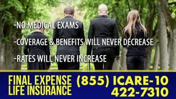 Final Expense Life Insurance TV Spot, 'Saying Goodbye: Ease the Burden' - Thumbnail 5