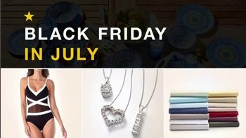 Macy's Black Friday in July TV Spot, 'Swimwear, Jewelry and Sheets' - Thumbnail 2