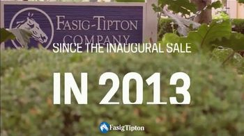 Fasig-Tipton Company July Horses of Racing Age Sale TV Spot, 'The Nation's Number One'