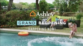 Ashley HomeStore Grand Reopening Event TV Spot, 'Living Room, Dining Room and Bedroom' - Thumbnail 2