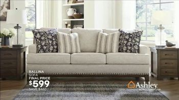 Ashley HomeStore Grand Reopening Event TV Spot, 'Living Room, Dining Room and Bedroom' - Thumbnail 7